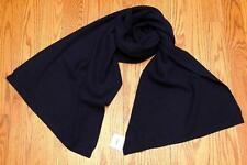 V NWT VINCE THERMAL WOOL CASHMERE WOMEN SCARF in BLUE $195