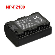 2500mAh NP-FZ100 Battery+LCD Dual USB Charger For Sony A9 A7R III A7 III Mark 3