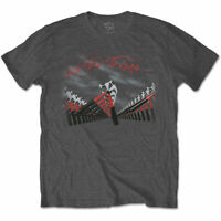 Pink Floyd Unisex Tee: The Wall Marching Hammers - Grey Cotton