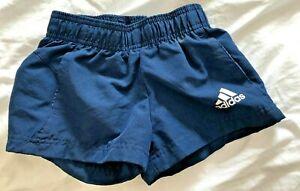 Adidas Boys Navy Sports Shorts Toddler size 4-5