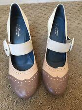 Anthropologie Zita Maria Colorblock Oxford Shoe 7 Worn Once
