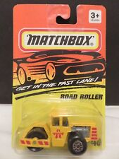 1993 Matchbox Road Roller $40 Construction Die-Cast Metal RL#88