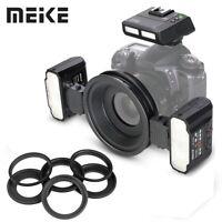 Meike MK-MT24 Macro Twin Lite Flash with Trigger for Nikon DSLR Cameras