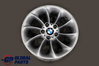 "BMW Z4 Series 5 E85 Silver Wheel Rim 17"" 8J ET:47 Turbine Styling 106 6758191"