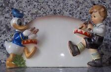 Goebel Disney und Hummel Figur Donald und Trommler Goebel Archivstück v. 2000
