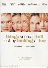 THINGS YOU CAN TELL JUST BY LOOKING AT HER Glenn Close DVD R1 - New