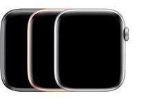 Apple Watch Series 5 40mm & 44mm Cellular Black Silver Stainless Steel Titanium