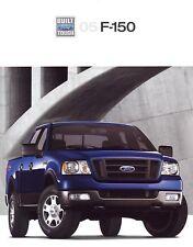 2005 Ford F-150 XL SXT XLT FX4 Lariat King Ranch Pickup Truck Sales Brochure