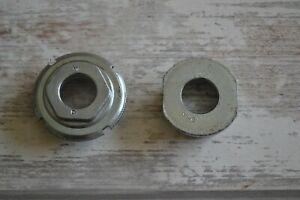 Vintage MI Steel English Threaded 1.37 x 24TPI Bottom Bracket Cups Only