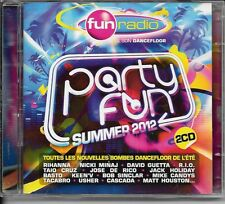 2 CD COMPIL 45 TITRES--PARTY FUN 2012--RIHANNA/GUETTA/MINAJ/CRUZ/USHER/CASCADA..