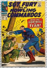 Sgt. Fury and His Howling Commandos #39 (1967) Fine (6.0) ~ Marvel Comics