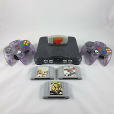 Nintendo 64 Console +4 Games, 2 Controllers