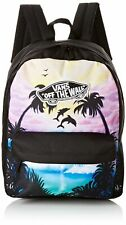 Vans Women's Realm Backpack - Palm Tree Dolphin Black