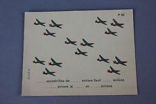 Matériel scolaire Studia carte calcul Multiplication escadrille avion P85 école