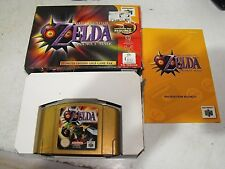 The Legend of Zelda Majora's Mask Collectors Edition Nintendo 64 Boxed Near Mint