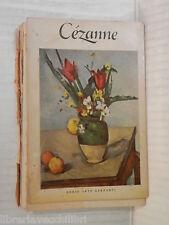 PAUL CEZANNE 1839 1906 Marco Valsecchi Serie Arte Garzanti 1970 libro saggistica