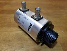Alan 50V70 Bnc Rotary Variable Coaxial Rf Attenuator New