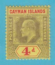 CAYMAN ISLANDS 25 MINT LIGHTLY HINGED OG * NO FAULTS VERY FINE!