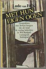 Holocaust/Shoah-With Their Own Eyes by Ludo van Eck (Dutch)