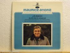 MAURICE ANDRÉ * J.S. Bach - Suite En Si Mineur * Trompete * Gatefold Erato 70511