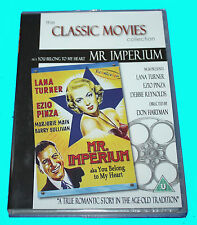 CLASSIC MOVIES COLLECTION - MR IMPERIUM - DVD - NEW & SEALED BOX