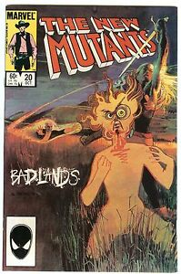 The New Mutants #20 (Oct 1984, Marvel)