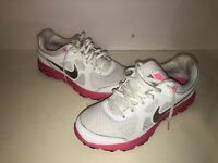 NIKE Lunarlon Women's Shoes Sz 7.5 White/Pink