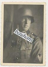 Ritratto soldato con casco acciaio 2.wk (100)