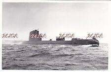 "Original Photograph Royal Navy. HMS ""Turpin"" Submarine. INS ""Leviathan"" 1959"