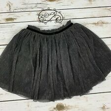 NWT Gymboree Tres Fabulous 3 4 Gray Ruffle Tiered Rhumba Holiday Skirt Girls NEW