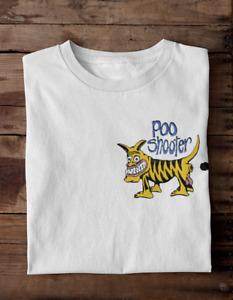 Poo Shooter Men's T-SHIRT Old School Novelty Retro Vintage Surf Beach Bootleg