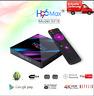 H96 max Android 9.0 Smart TV BOX 4K 4Gb + Ram 64 Rom Wifi HD Media Player