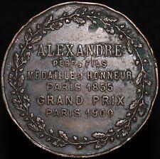 More details for alexandre pere & fils medal of honor paris 1855 grand prix paris 1900 | km coins
