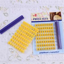 Hot Alphabet Letter Number Biscuit Cookie Cutter Press Stamp Embosser Cake Mould