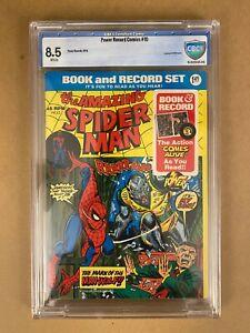 Amazing Spider-Man #124 - 1974 (Marvel) - 1st Man Wolf - Reprint/45 RPM Record!