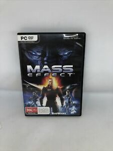 MASS EFFECT Complete PC Game Retro Very Good Condition FREE SHIPPING