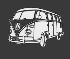High Detail Aerografo Stencil 1973 VW Bus spedizione gratuita nel Regno Unito