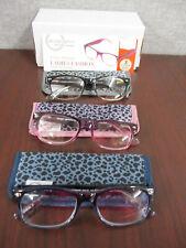 Design Optics By Foster Grant Full Frame Ladies Reading Glasses- 3 PACK  +2.50