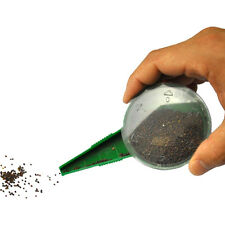Seed Dispenser Seed Dial 5 Verstellbarer Disseminator Seeder Garden Tackle :