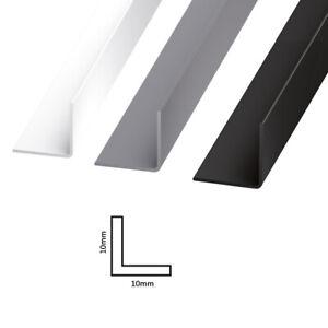 Plastic Corner Trim - PVC Rigid Angle Cover Trim - 90 Degree Angle Edge -1 Metre