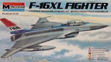 Monogram 1:72 F-16XL F-16 XL Fighter Plastic Aircraft Model Kit #5206U