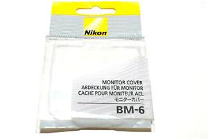Nikon BM-6 LCD-Protector / Monitor Cover für D200 (NEU/OVP)