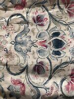 Provence King Pillow Shams & Accent Throw Pillow Ralph Lauren 3 Piece Set