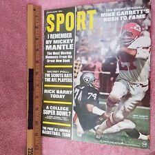 SPORT Magazine - JAN 1968 - Roman Gabriel RICK BARRY College SuperBowl -FreeSHIP
