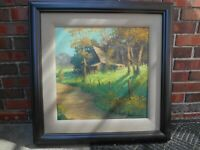 Dan Woodson oil painting He is a Plein Air Master