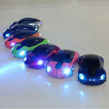 2.4GHz Wireless 1600DPI 3D Car Style Usb Optical Gaming Mouse For Laptop PC Mac
