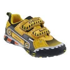 Scarpe gialla con chiusura a strappo per bambini dai 2 ai 16 anni