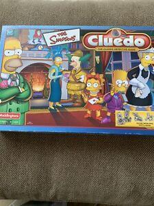 The Simpsons Cluedo - Waddington's Games 3-6players