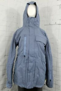 686 Authentic Smarty 3-in-1 Form Snowboard Jacket Men's Large Slate Blue Pincord
