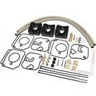 For Yamaha 40-50 HP 3 Cylinder Carburetor Repair Kit 6H4-W0093-03-00, 02-00